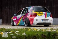 VW Golf 4 GTI Der Pop Art Golf SchwabenFolia MTCHBX DESIGNS Tuning 4 190x127 Crazy   VW Golf 4 GTI Der Pop Art Golf by SchwabenFolia
