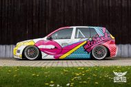 VW Golf 4 GTI Der Pop Art Golf SchwabenFolia MTCHBX DESIGNS Tuning 5 190x127 Crazy   VW Golf 4 GTI Der Pop Art Golf by SchwabenFolia