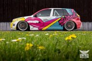 VW Golf 4 GTI Der Pop Art Golf SchwabenFolia MTCHBX DESIGNS Tuning 7 190x127 Crazy   VW Golf 4 GTI Der Pop Art Golf by SchwabenFolia