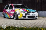 VW Golf 4 GTI Der Pop Art Golf SchwabenFolia MTCHBX DESIGNS Tuning 8 190x127 Crazy   VW Golf 4 GTI Der Pop Art Golf by SchwabenFolia