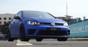 VW Mk7 Golf R City Performance Centre Mattblau Folierung Tuning 5 1 310x165 Top   VW Mk7 Golf R vom City Performance Centre in Mattblau