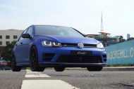 VW Mk7 Golf R City Performance Centre Mattblau Folierung Tuning 5 190x127 Top   VW Mk7 Golf R vom City Performance Centre in Mattblau