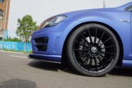 VW Mk7 Golf R City Performance Centre Mattblau Folierung Tuning 6 190x127 Top   VW Mk7 Golf R vom City Performance Centre in Mattblau