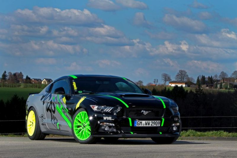 WRAPworks Folierung Ford Mustang GT Fastback Tuning Roush Performance 1 WRAPworks Tuning & Folierung am Ford Mustang GT Fastback