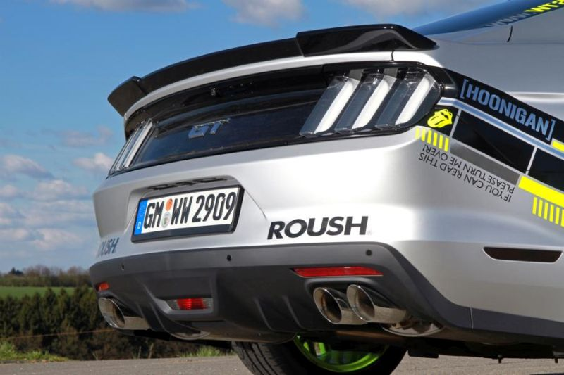 WRAPworks Folierung Ford Mustang GT Fastback Tuning Roush Performance 12