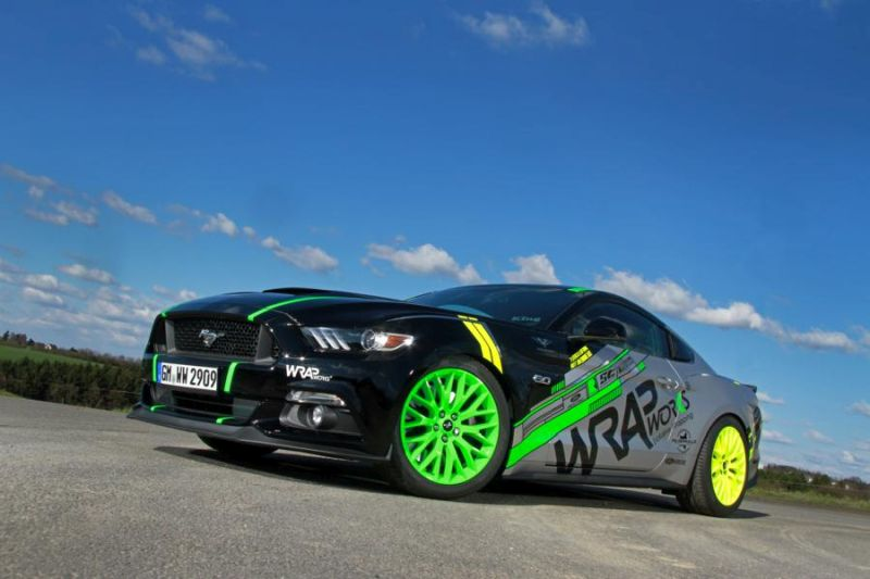 WRAPworks Folierung Ford Mustang GT Fastback Tuning Roush Performance 2 WRAPworks Tuning & Folierung am Ford Mustang GT Fastback