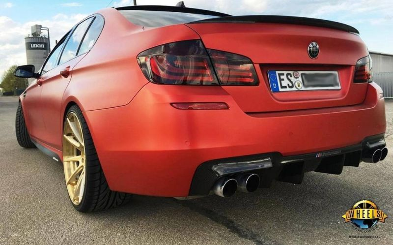Wheels World Wide tuning empire BMW 5er F10 BC Forged HCS 04 Tuning 4 Wheels World Wide   BMW 5er F10 auf 21 Zoll Alufelgen