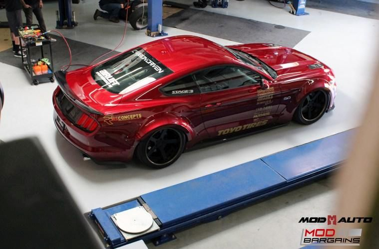 Widebody S550 Vortech Ford Mustang Kompressor Tuning ModBargains 1