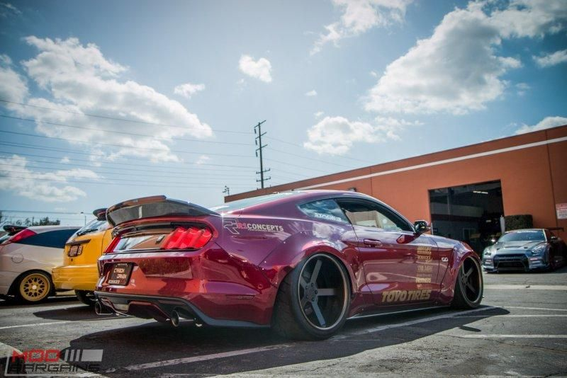 Widebody S550 Vortech Ford Mustang Kompressor Tuning ModBargains 10