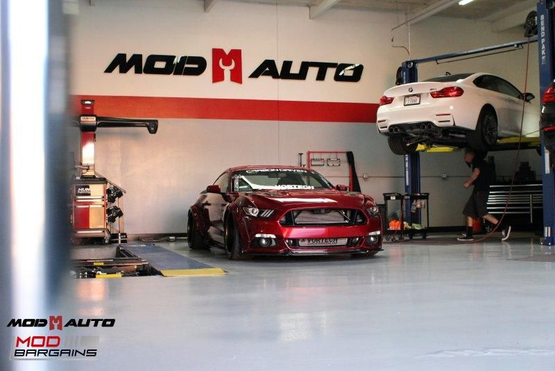 Widebody S550 Vortech Ford Mustang Kompressor Tuning ModBargains 17