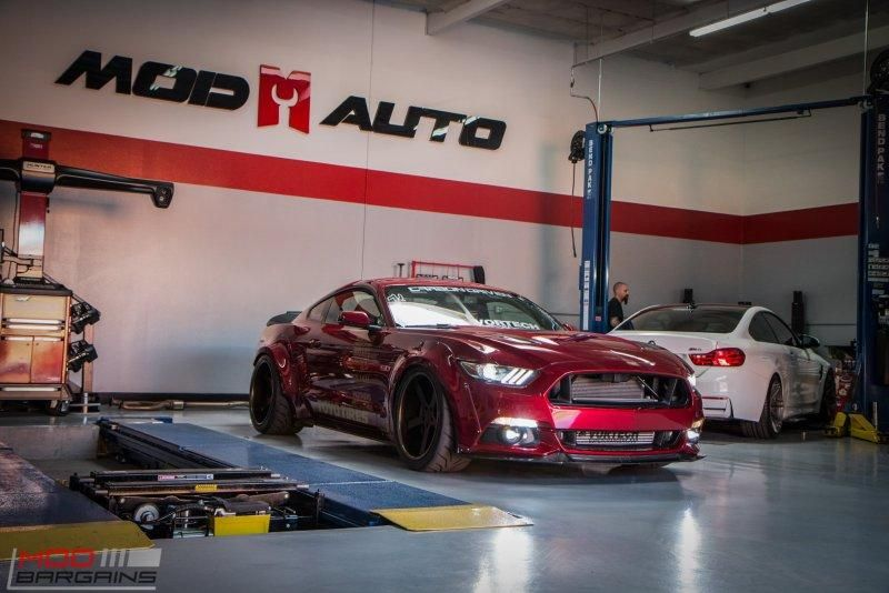 Widebody S550 Vortech Ford Mustang Kompressor Tuning ModBargains 18