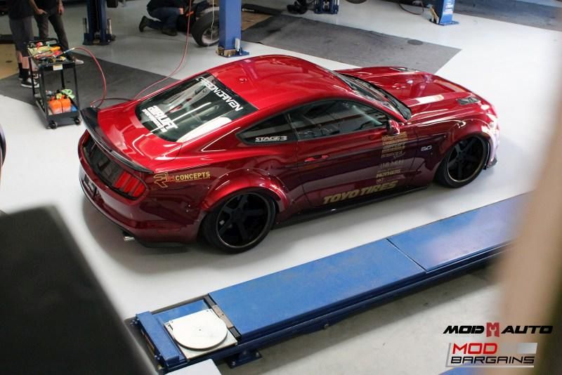 Widebody S550 Vortech Ford Mustang Kompressor Tuning ModBargains 20