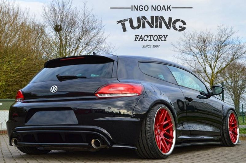 widebody vw scirocco r by ingo noak tuning 3 tuningblog. Black Bedroom Furniture Sets. Home Design Ideas