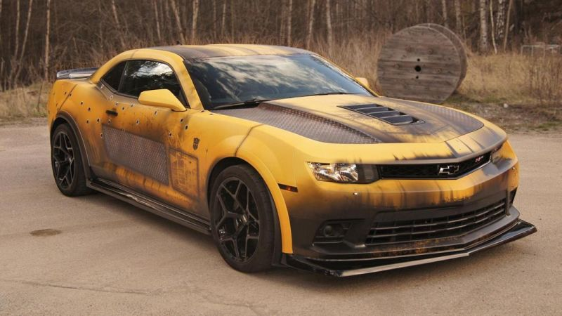 wrap zone bumblebee chevrolet camaro z28 folder tuning 9 magazine. Black Bedroom Furniture Sets. Home Design Ideas