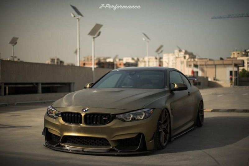 Z-Performance Wheels ZP.NINE 21 Zoll BMW M4 F82 Tuning 4
