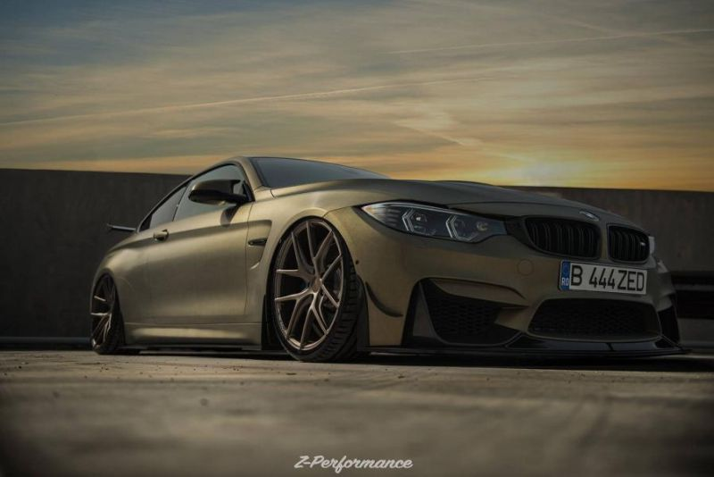 Z-Performance Wheels ZP.Nine 21 Zoll Tuning BMW M4 F82 10
