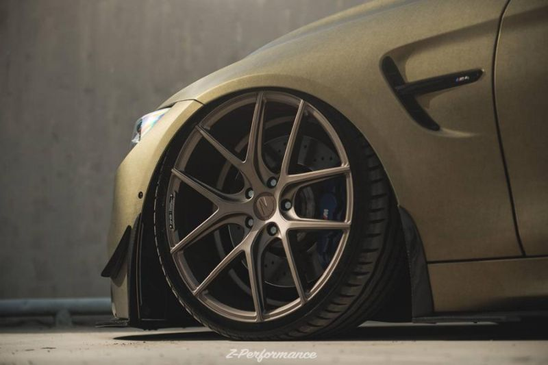 Z-Performance Wheels ZP.Nine 21 Zoll Tuning BMW M4 F82 11