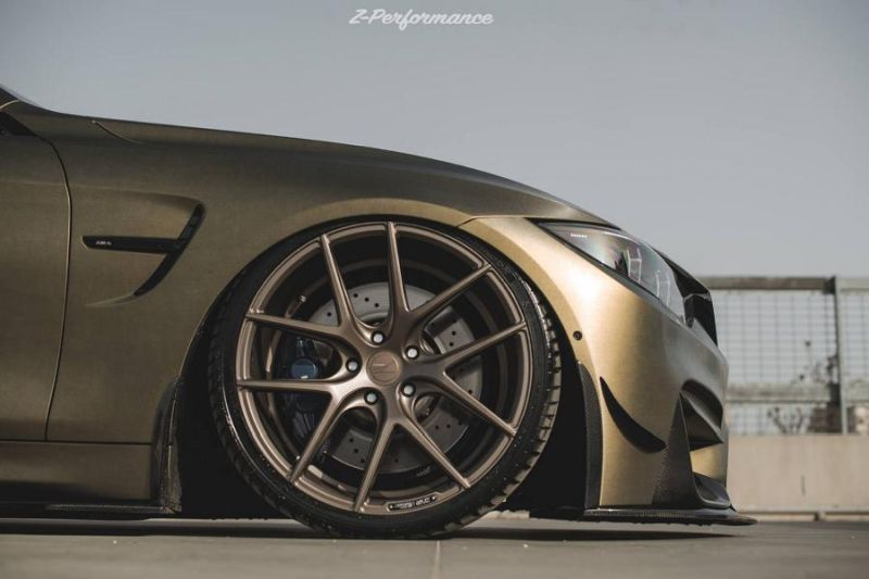 Z-Performance Wheels ZP.Nine 21 Zoll Tuning BMW M4 F82 2