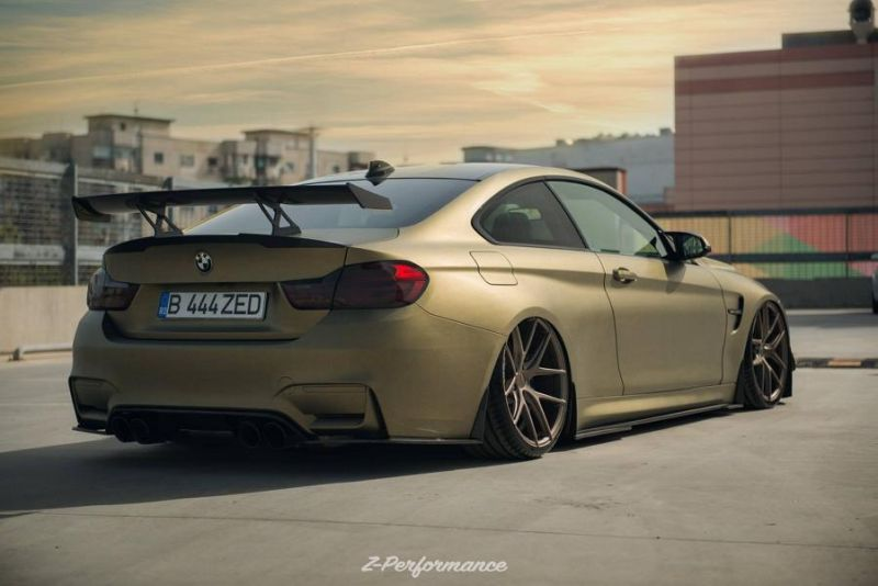 Z-Performance Wheels ZP.Nine 21 Zoll Tuning BMW M4 F82 4