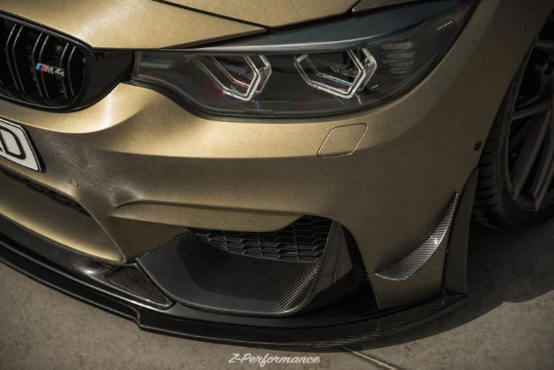 Z-Performance Wheels ZP.Nine 21 Zoll Tuning BMW M4 F82 5