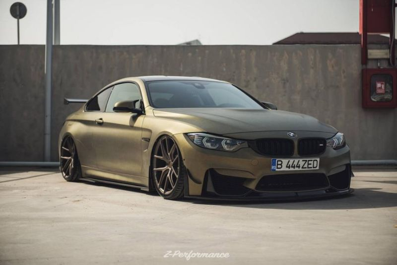 Z-Performance Wheels ZP.Nine 21 Zoll Tuning BMW M4 F82 7