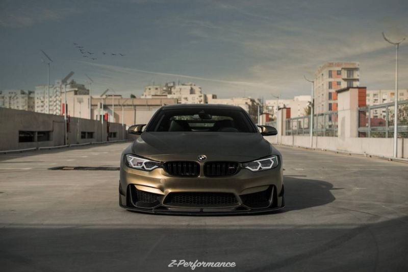 Z-Performance Wheels ZP.Nine 21 Zoll Tuning BMW M4 F82 8