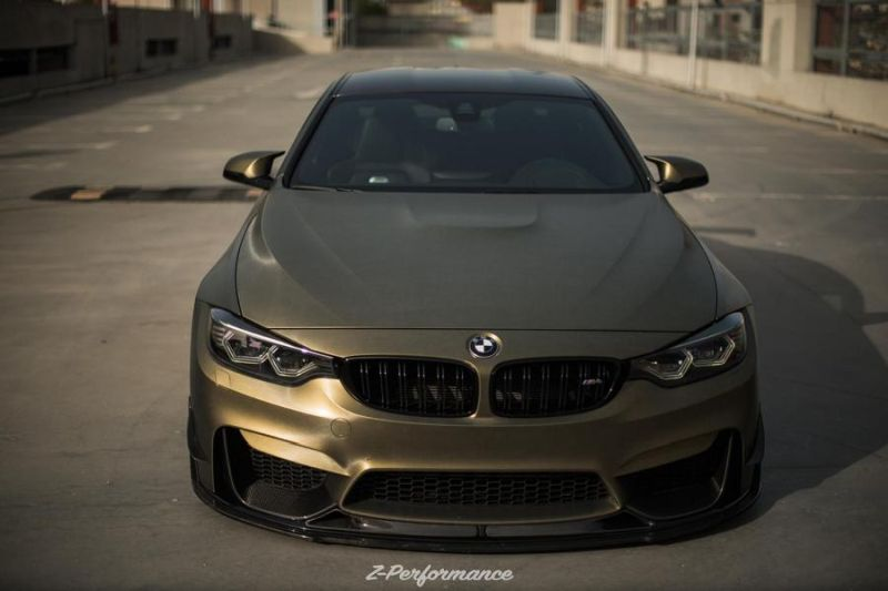 Z-Performance Wheels ZP.Nine 21 Zoll Tuning BMW M4 F82 9