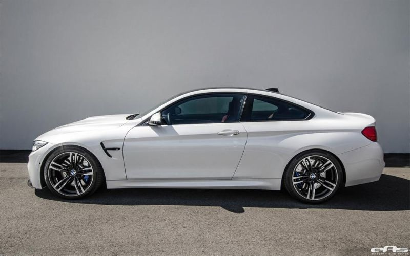 iND RKP EAS Tuning BMW M4 F82 Coupe Alpine Wei%C3%9F 2 iND & RKP Parts am EAS Tuning BMW M4 F82 Coupe in Alpine Weiß