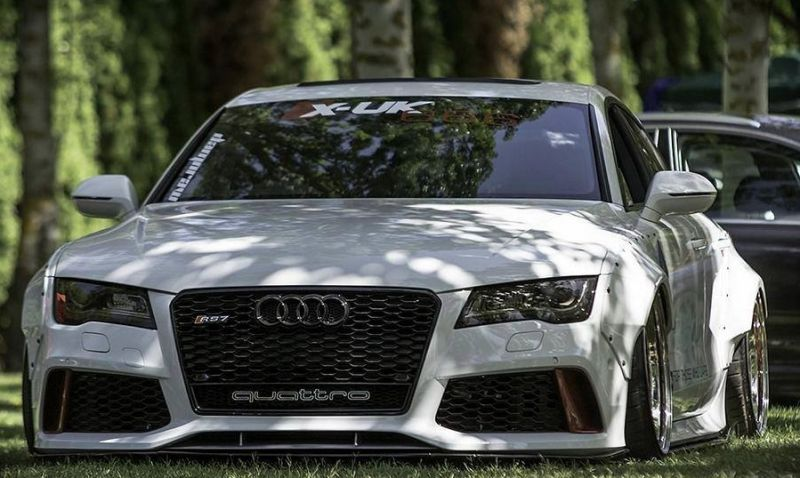 13092129 601954856638299 4024067125586279322 n Audi A7 RS7 Liberty Walk Widebody Kit by tuningblog.eu