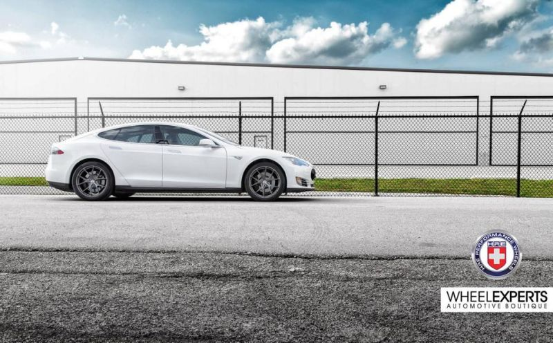 19 Zoll HRE Performance Wheels P101 Tesla Model S Tuning 4 19 Zoll HRE Performance Wheels P101 am Tesla Model S