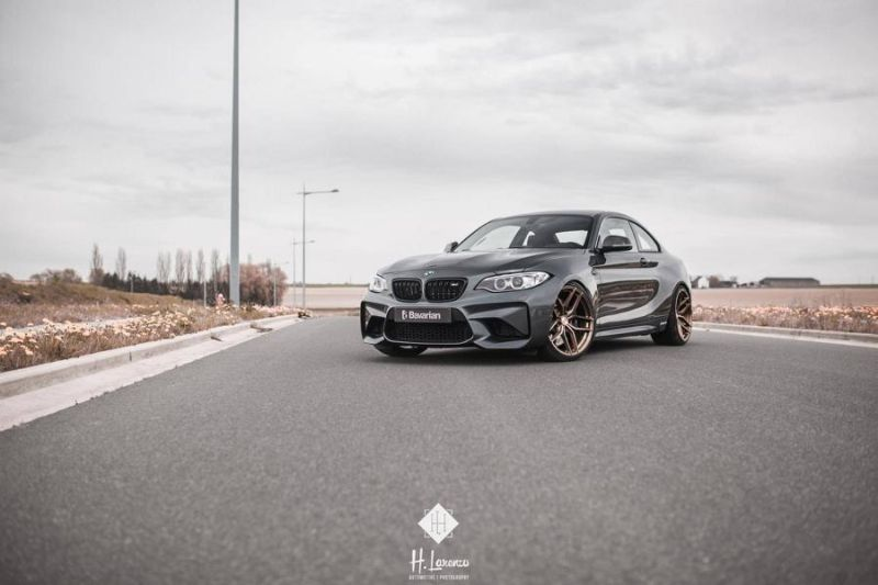 20 Zoll Z Performance Wheels BMW M2 F87 Coupe Tuning 1 20 Zoll Z Performance Wheels am BMW M2 F87 Coupe