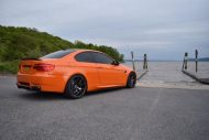 20 Zoll ZS05 Zito Wheels BMW E92 M3 Orange Tuning 1 190x127 20 Zoll ZS05 Zito Wheels am BMW E92 M3 in Orange