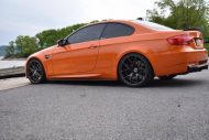 20 Zoll ZS05 Zito Wheels BMW E92 M3 Orange Tuning 2 190x127 20 Zoll ZS05 Zito Wheels am BMW E92 M3 in Orange