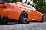 20 Zoll ZS05 Zito Wheels BMW E92 M3 Orange Tuning 3 190x127 20 Zoll ZS05 Zito Wheels am BMW E92 M3 in Orange