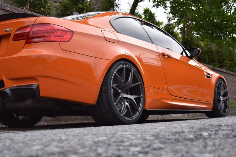20 Zoll ZS05 Zito Wheels BMW E92 M3 Orange Tuning 3 20 Zoll ZS05 Zito Wheels am BMW E92 M3 in Orange