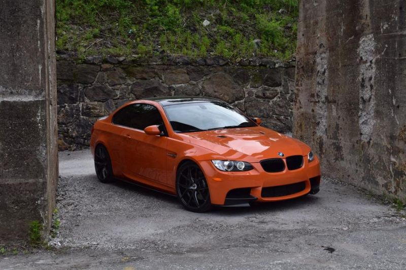 20 Zoll ZS05 Zito Wheels BMW E92 M3 Orange Tuning 4 20 Zoll ZS05 Zito Wheels am BMW E92 M3 in Orange