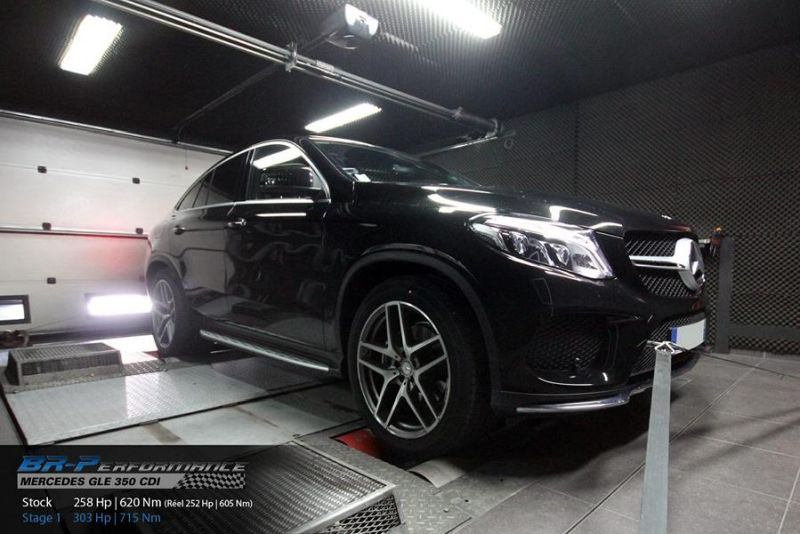 303PS 715NM Mercedes GLE 350 CDI Chiptuning BR Performance 1 303PS & 715NM im Mercedes GLE 350 CDI von BR Performance