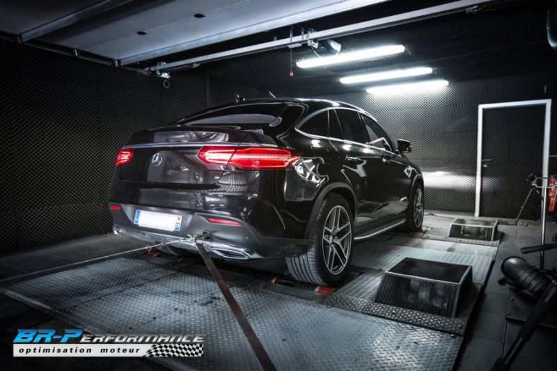 303PS 715NM Mercedes GLE 350 CDI Chiptuning BR Performance 2 303PS & 715NM im Mercedes GLE 350 CDI von BR Performance