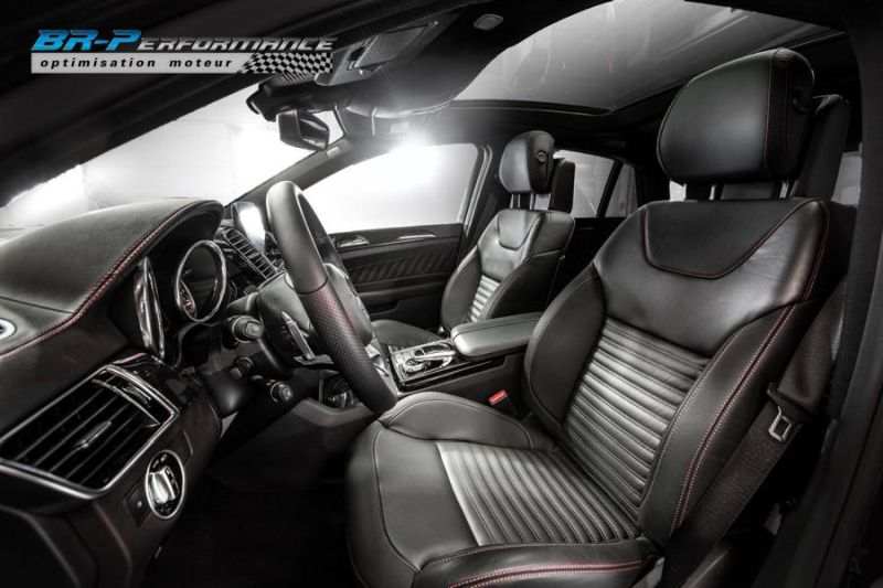 303PS & 715NM Mercedes GLE 350 CDI Chiptuning BR-Performance 4