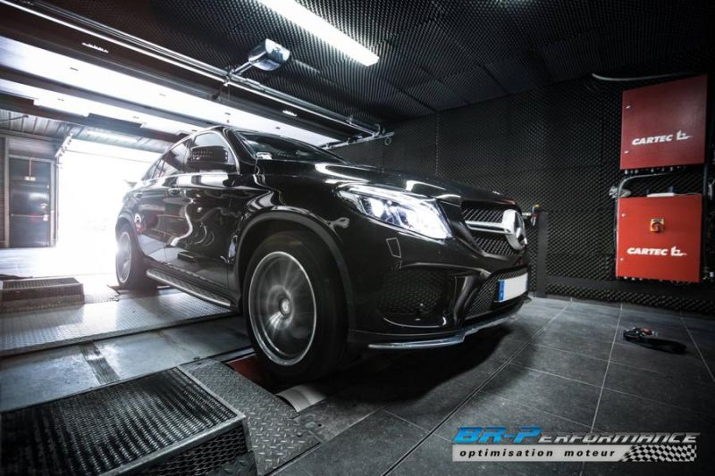 303PS & 715NM Mercedes GLE 350 CDI Chiptuning BR-Performance 7