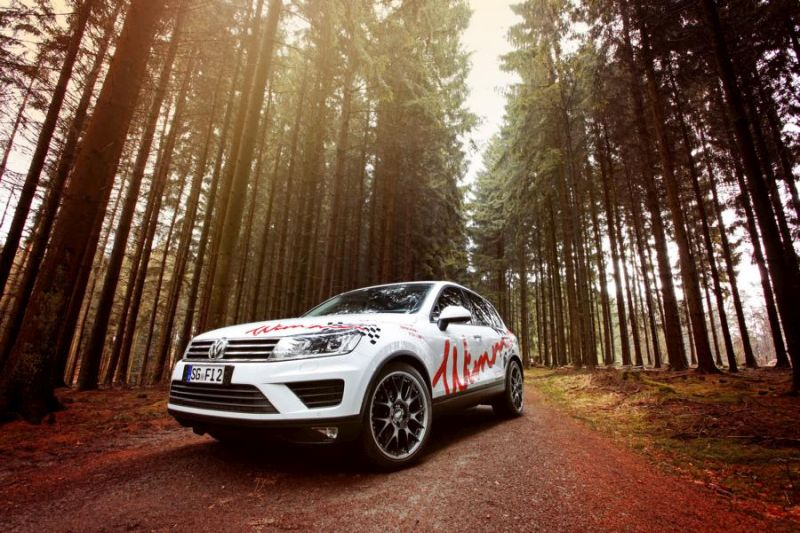 310PS 600NM Wimmer VW Touareg 3.0 TDI Tuning 2 Bis zu 310PS & 600NM im Wimmer VW Touareg 3.0 TDI