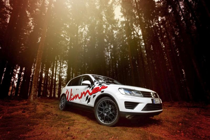 310PS 600NM Wimmer VW Touareg 3.0 TDI Tuning 3 Bis zu 310PS & 600NM im Wimmer VW Touareg 3.0 TDI