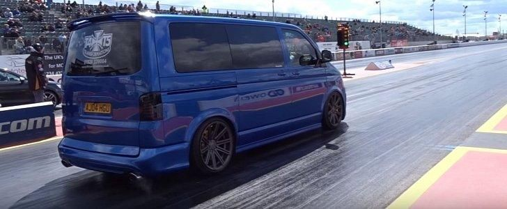 400PS Audi RS4 Power im VW T5 Bus Tuning 1