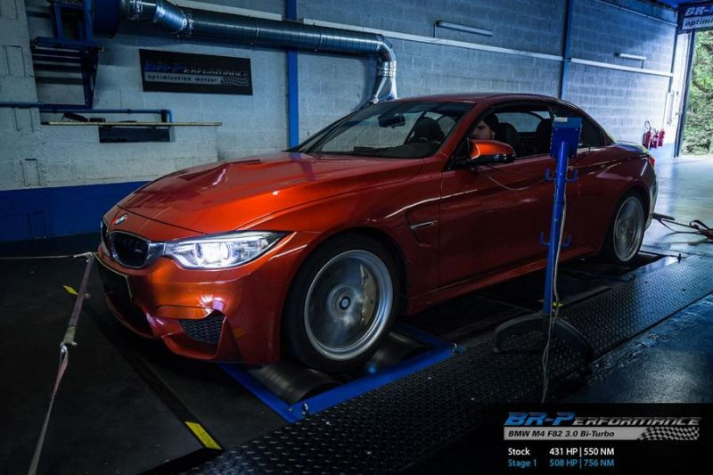 508PS 756NM BMW M4 F83 Cabrio Chiptuning BR Performance 1 508PS & 756NM im BMW M4 F83 Cabrio by BR Performance