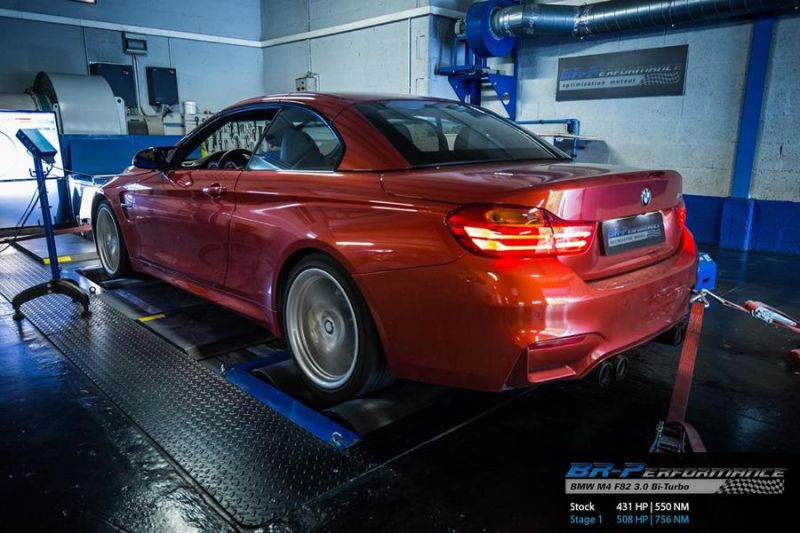 508PS 756NM BMW M4 F83 Cabrio Chiptuning BR Performance 2 508PS & 756NM im BMW M4 F83 Cabrio by BR Performance