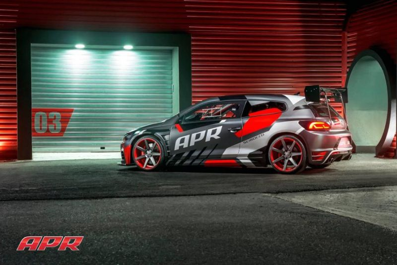 APR LLC Racing VW Scirocco GT2 Project Car tuning 1 Fotostory: APR Racing VW Scirocco GT2 Project Car