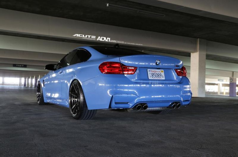 Acute Performance BMW M4 F82 Yas Marina Blau Tuning ADV.1 Wheels 1 Acute Performance BMW M4 F82 in Yas Marina Blau