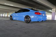 Acute Performance BMW M4 F82 Yas Marina Blau Tuning ADV.1 Wheels 4 190x125 Acute Performance BMW M4 F82 in Yas Marina Blau