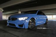 Acute Performance BMW M4 F82 Yas Marina Blau Tuning ADV.1 Wheels 6 190x124 Acute Performance BMW M4 F82 in Yas Marina Blau