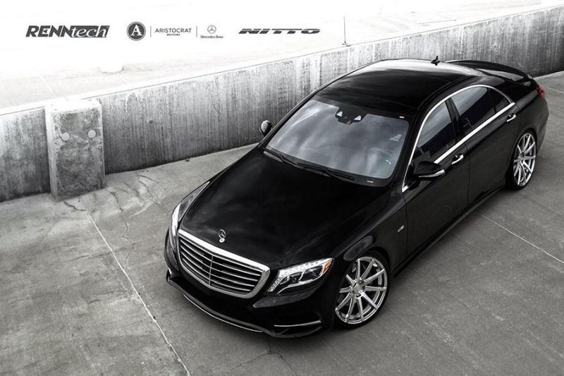 Aristocrat Motors Mercedes S550 Renntech Deep Monolight 16 Tuning (7)